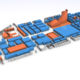 CGI Render of London Ski Show Floorplan to showcase what the event will look like and give an idea of scale